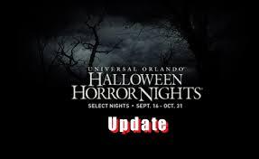 halloween horror nights 26 update youtube