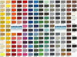 powder coating ral colors south florida powder coat color charts