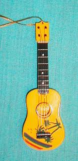 ukulele ornament 5 inch firebird arts and