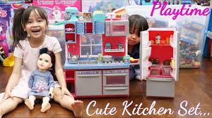 Kitchen Set Toys For Girls Toy Doll Review Cooking Playset For Little Girls Journey Girls