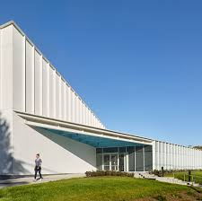 urban design architecture and projects dezeen glass facade invites participation at new jersey community centre by ikon 5 architects