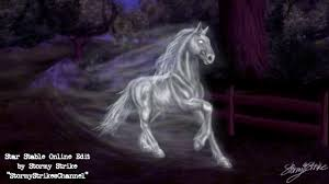 star stable speed edit ghost horse halloween special youtube