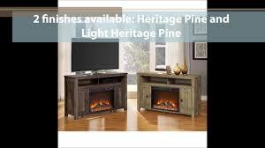 ameriwood home farmington electric fireplace tv console features