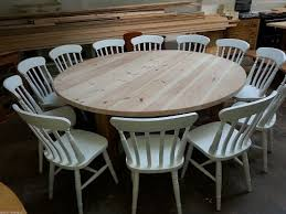 12 Seat Dining Room Table Large Round Dining Table Seats 12 Dining Room Wingsberthouse