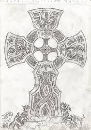 celtic cross by overi on deviantart