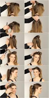 Frisuren F Lange Haare Einfach Und Schnell by Die Besten 25 Silvester Frisur Zopf Ideen Auf