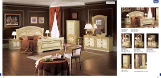 Bedroom Furniture Stores Nyc by Aida Traditional Bed In Ivory Gold 1 192 00 Furniture Store