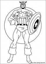 captain america coloring pages coloring book boy parties