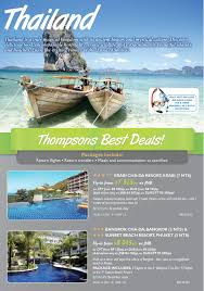 fantastic thailand travel and flight deals on now milesaway