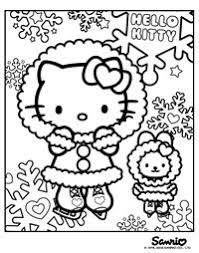 interactive magazine kitty christmas coloring sheets