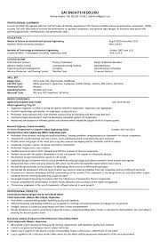 systems engineering resume experienced cae fea engineer resume