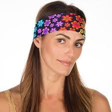workout headbands neon flowers non slip workout headband vero brava