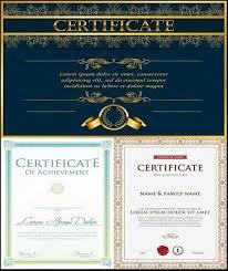 certificate vector templates photoshop kopona com free
