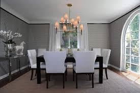 Classic Elegant Dining Room Interior Design of Spanish Beverly