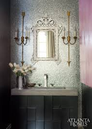 French Powder Room Relaxed Refinement Ah U0026l