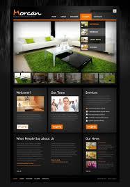website template 42269 morcan interior design custom website
