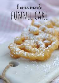 home made funnel cakes bring the carnival home with this easy