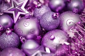 ornaments purple ornaments glass