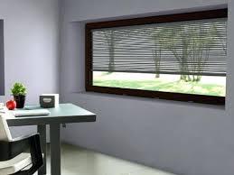 dans un bureau fenatre panoramique dimension fenatre aluminium grande largeur dans