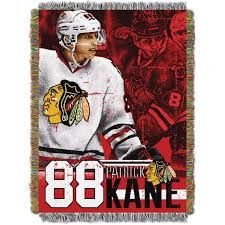 Bedroom Sets Kanes Chicago Blackhawks Patrick Kane Nhl Throw By The Northwest At