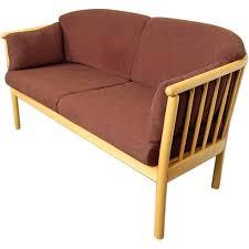 Modern Outdoor Loveseat Swedish Modern Loveseat Sofa Settee For Sale At 1stdibs