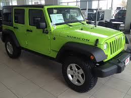 jeep green elegant lime green jeep wrangler 2012 for sale