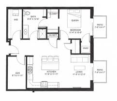 den floor plan middleton center twe