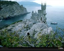 the neo gothic swallow u0027s nest castle perches 130 feet 40 meters