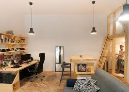 cool micro studio in budapest makes the most out of 344 square