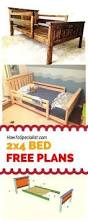 how to build a 2x4 bed frame easy to follow free plans guides