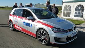 volkswagen diesel rolling coal vw golf gti by mahle 1 2 litre 3 cyl prototype 2016 review by