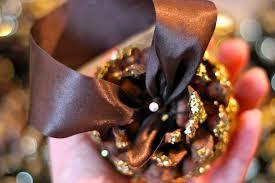 diy scented glitter pinecones u2013 ramshackle glam