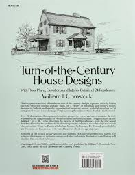 turn century house designs with floor plans elevations