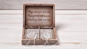 Wedding Ring Box by Ring Bearer Box Wedding Ring Box Personalized Ring Box Rustic