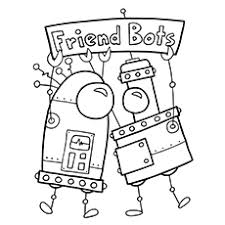 Robots Coloring Pages 20 free printable robot coloring pages
