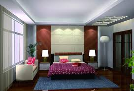 interior design modern european style master bedroom ceiling