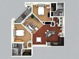 Home Design Free Software 3d Colored Floor Plan3d Home Design Free House Plan Software