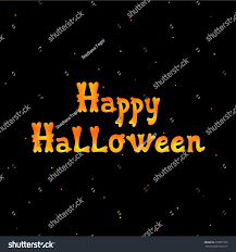 halloween black background image happy halloween black background vector stock vector 218827753