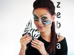 zebra halloween costume last minute halloween makeup elegant zebra sim youtube