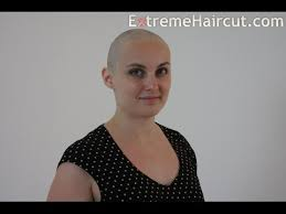 extremehaircut blog lilit s head shave extremehaircut com model youtube