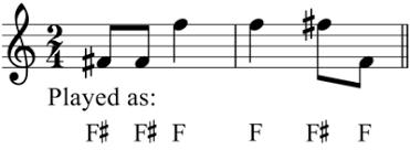 accidental music wikipedia