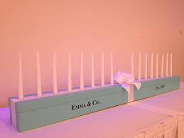 sweet 16 candelabra sweet 16 tiffanythemed candelabra by theredwoodshop on etsy