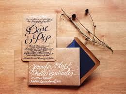 Calligraphy Wedding Invitations Gorgeous Wedding Invitations Hand Calligraphy Wedding Stationery