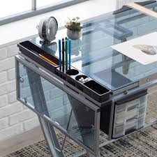 Studio Drafting Table by Studio Designs Futura Advanced Drafting Table With Side Shelf