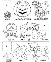 alphabet cut u0026 paste abc activity sheets letter matching j k l