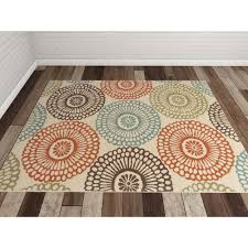 Outdoor Rug Lowes by Rugs Rectangle Bungalow Rose Douane Beige Blue Outdoor Rugs Lowes