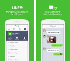 line apk line app lineat apk version 1 7 0 linecorp