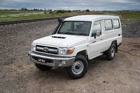 2017 toyota landcruiser 70 series review caradvice