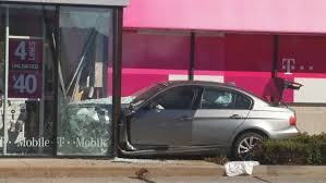 car crashes into johnston store wjar