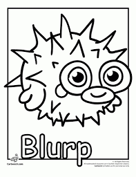 stylish moshi monster coloring pages regarding the house cool